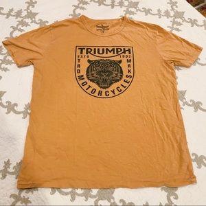 Lucky Brand Graphic Triumph Moto Tee
